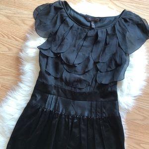BCBG SILK formal scallop dress